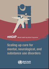 WHO | mhGAP Mental Health Gap Action Programme