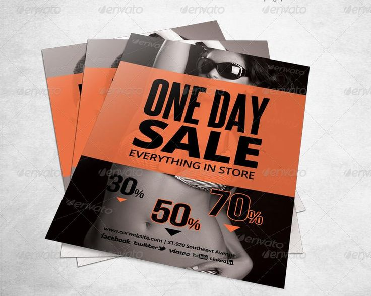 20 best 20 Sales Flyer Template PSD for House Retail and