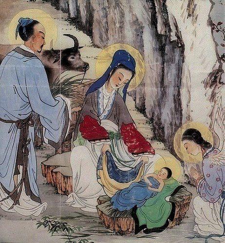 Sagrada familia versão chinesa