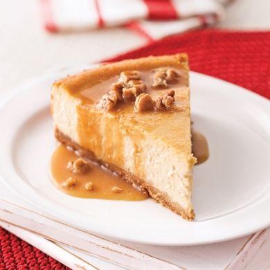 Gâteau au fromage érable et pacanes - Recettes - Cuisine et nutrition - Pratico Pratique