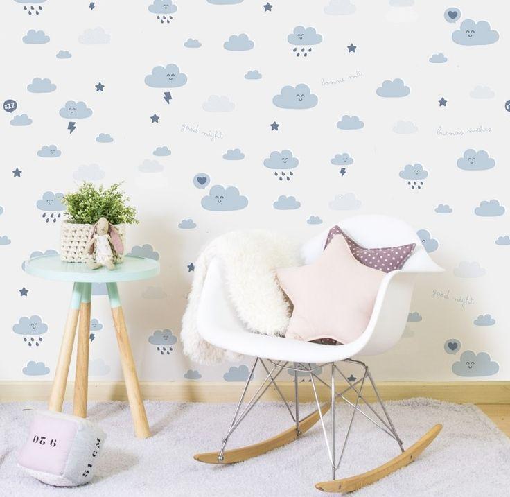 37 best wallpaper images on pinterest child room mr for Papel pared infantil