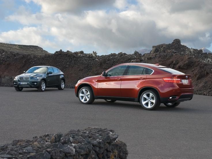 BMW X6 safty car motorsport vision colours