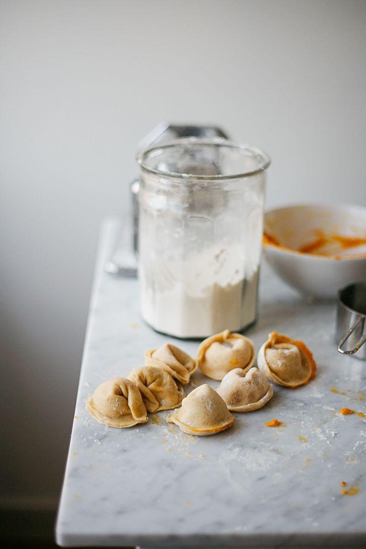 Pumpkin Ravioli | RK:
