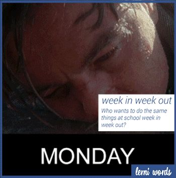 Week in week out - english idiom