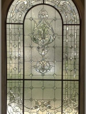 Images of lucite crystal and glass - Bevelled glass window.jpg