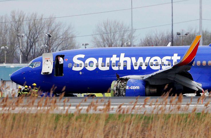 A Southwest Airlines Engine Explodes Killing a Passenger