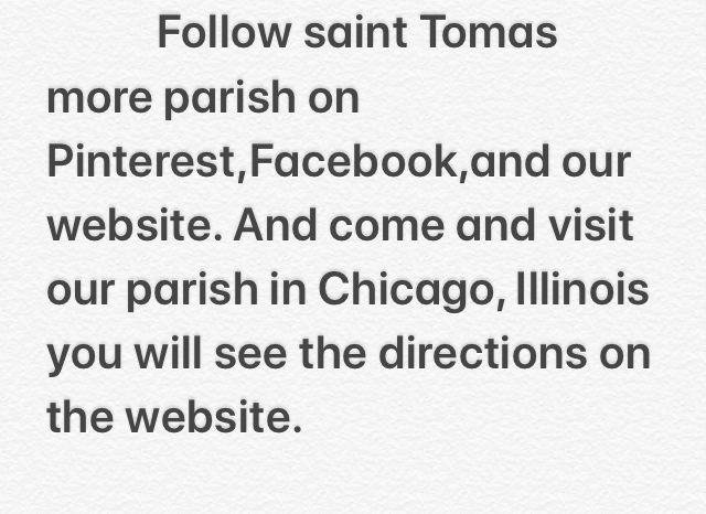 Pin By St Thomas More Parish On Mass Times Liturgy Schedule St Tomas Parish Mass Times