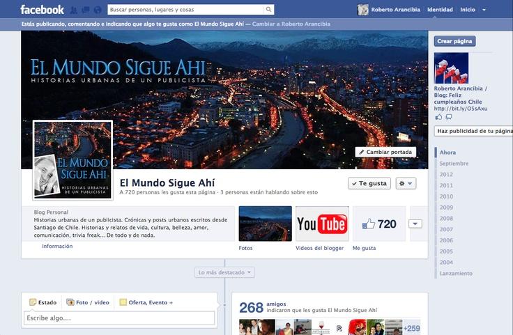 Fan Page El mundo sigue ahí:  http://www.facebook.com/El.Mundo.Sigue.Ahi