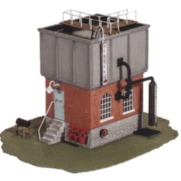 Bouwpakket HO: vierkante watertoren