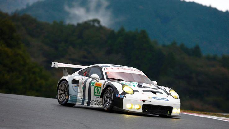 6 Horas de Fuji. Categoría GTE Pro Porsche #911RSR Nº 92, que quedó en segunda posición.