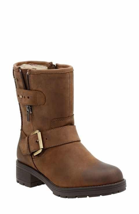 Clarks® 'Reunite Go' Gore-Tex® impermeable Moto Boot