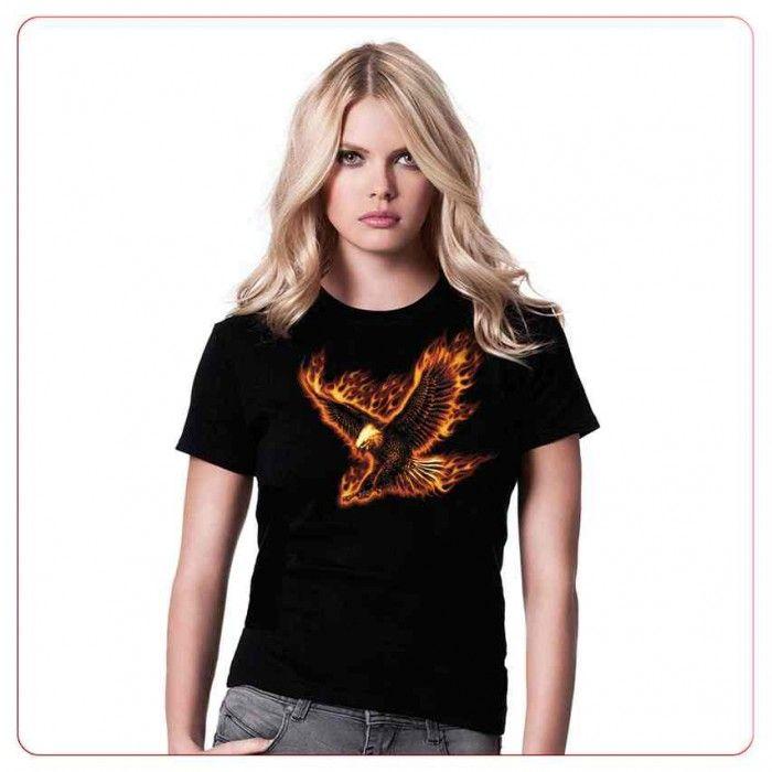 Cadouri pentru indragostiti – Tricou Flaming eagle