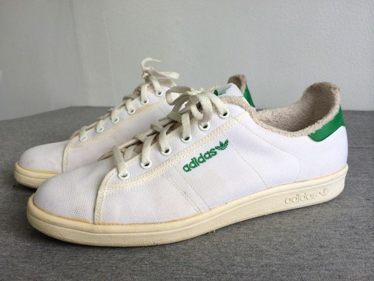 Vintage Adidas 80s Tennis Shoes Made In The Usa White