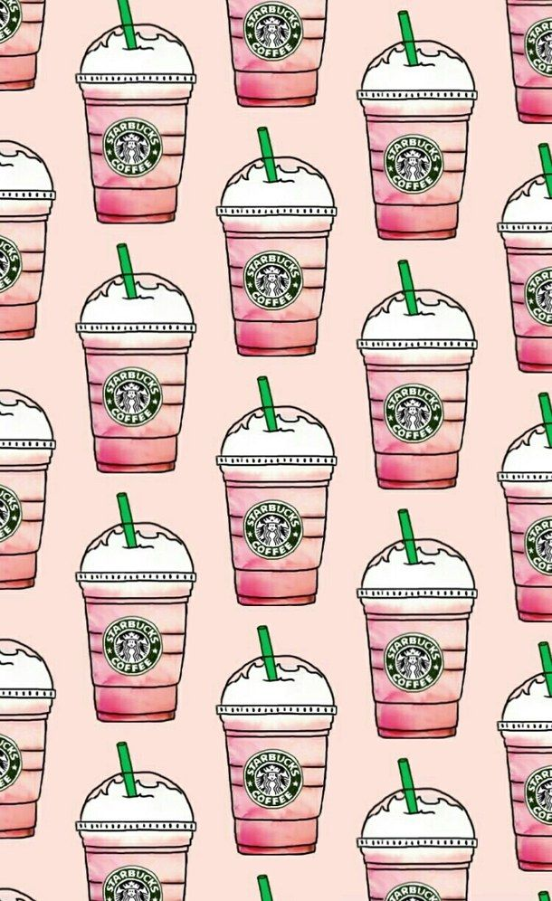 patterns-pink-starbucks-wallpapers-Favim.com-4516507.jpeg (610×996)