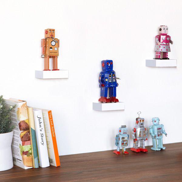 Showcase shelves / Små hyllor (3-pack)