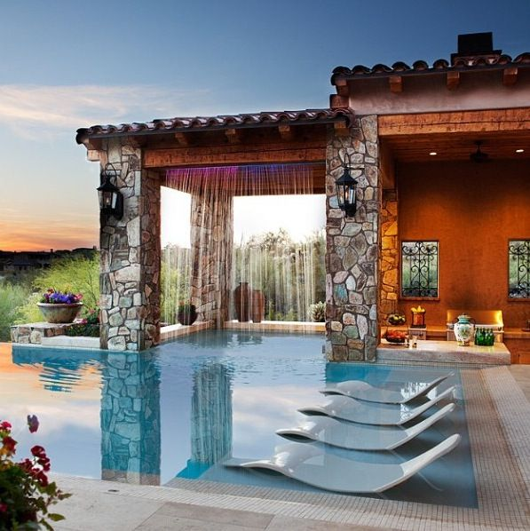 Ao lado da piscina   – New house