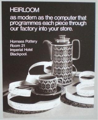 Hornsea Pottery advertisment