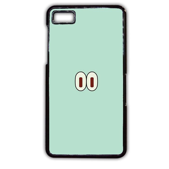 Spongebob Squidward Eyes Phonecase Cover Case For Blackberry Q10 Blackberry Z10