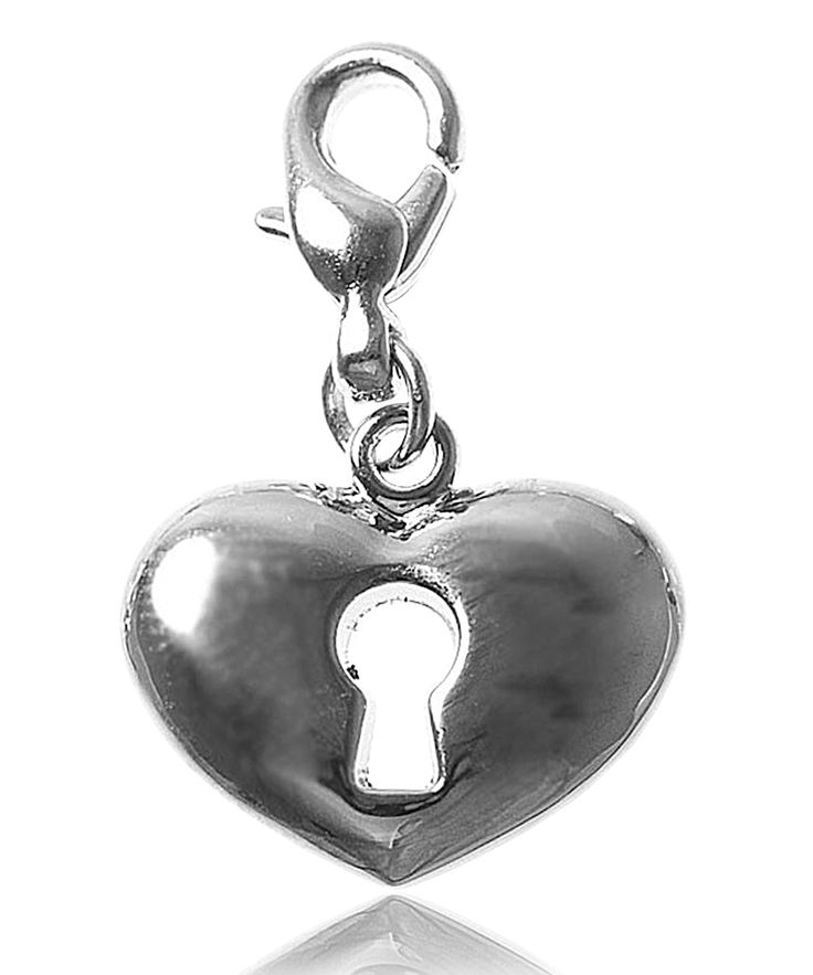 Charm cadenas dans coeur - So Charm