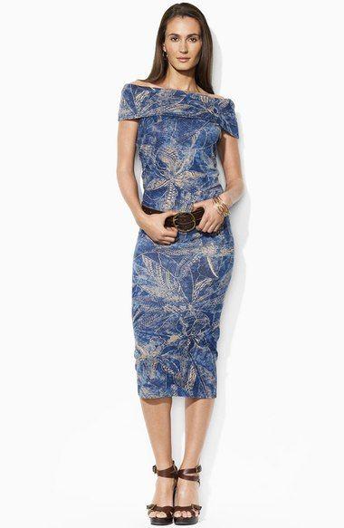 Lauren by Ralph Lauren Sleeveless Dress (Petite) available at #Nordstrom
