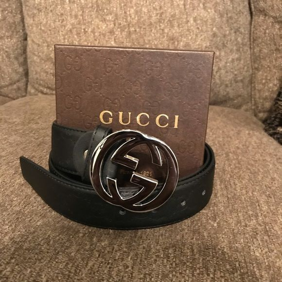Versace 100/% Leather Blue Women/'s Belt Sz 32 36 38 40