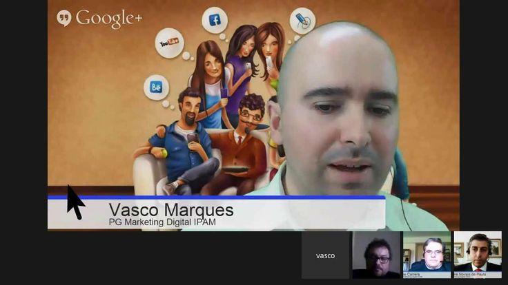 Personalização na Web Mais info http://vascomarques.com/?s=hangout