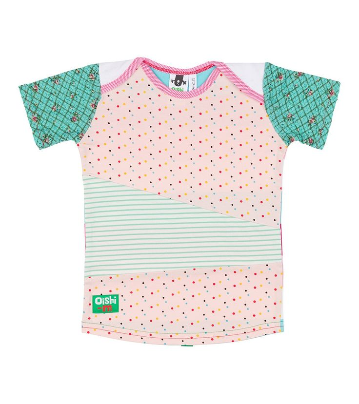 Heavenly View S/S Tri T Shirt, Oishi-m Clothing for kids, Autumn 2016, www.oishi-m.com