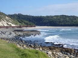 Gonubie is a small village just outside East London South Africa. Gonubie Point is a point on the Indian Ocean coast in Gonubie protruding a little into the sea. Gonubie, like many places along the East Coast of South Africa, has a fabulous beach and great waves for surfing.