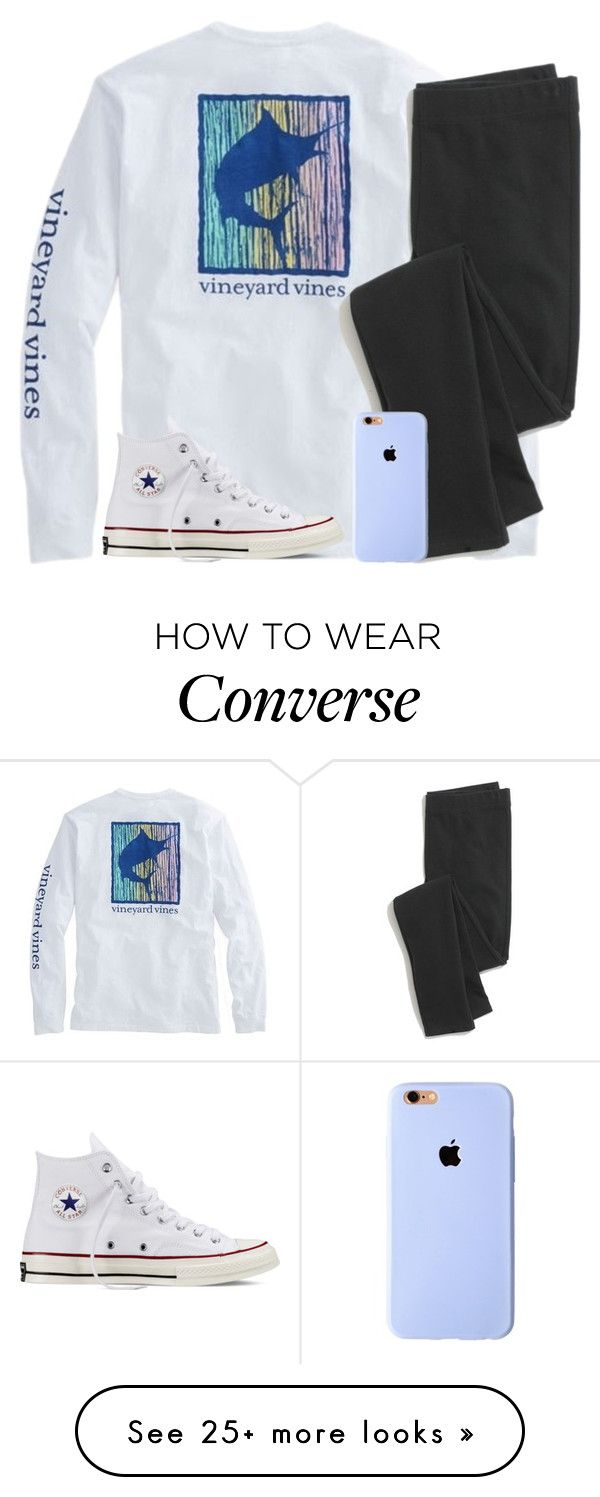 """""""You could of had it all"""" by kaitlynbug1226 on Polyvore featuring Madewell and Converse"""