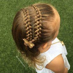 lindo trenzado Peinados para niñas