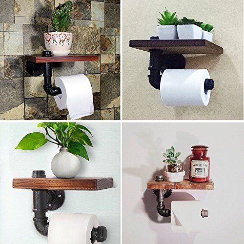 25 Best Ideas About Rustic Toilet Paper Holders On