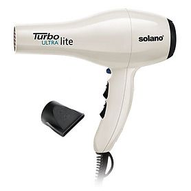 Solano ultra light hair dryer is awesome! Compact, light, and dries quickly & without damaging your hair. Folica.com, check it out.