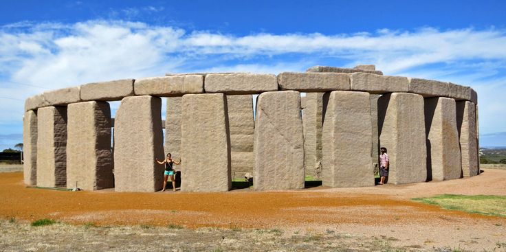 The Esperance Stonehenge is a full size replica of the original Stonehenge in the UK, as it would have looked around 2000BC. Description from ournakedaustralia.com.au. I searched for this on bing.com/images