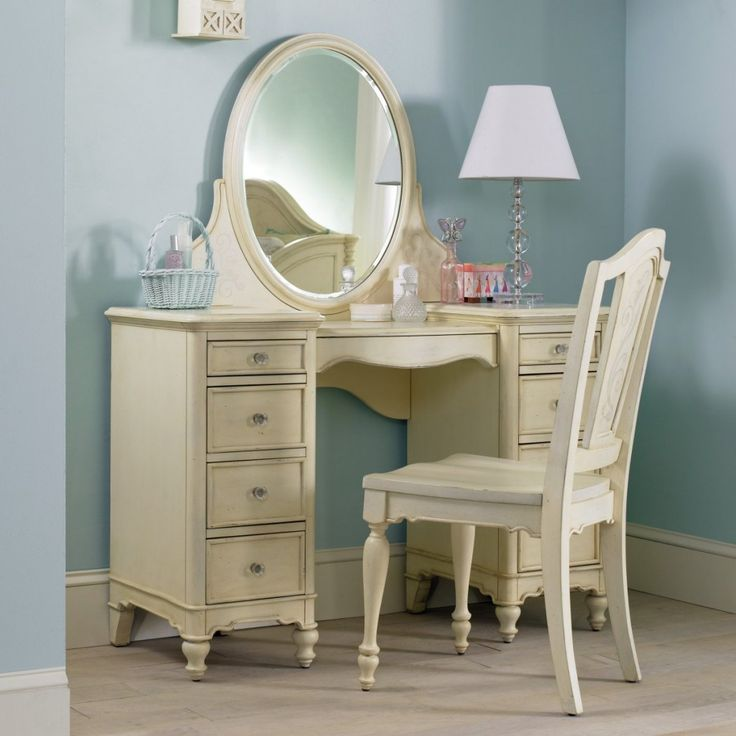 Hooker Furniture Ava Bedroom Vanity Set   The Ava Bedroom Vanity Set Is A  Beautiful And Charming Piece Of Bedroom Furniture Your Little Girl Can Use  For ...