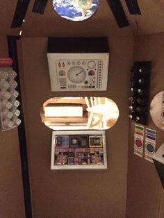 """cardboard spaceship playhouse"" pinterest - Google Search"