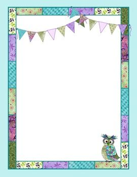 Book Smart Owls Binder Covers and Spines coordinates with our Book Smart Owls themed classroom collection. All of the designs are in purple and teal with a patchwork of other pretty colors. They are the perfect touch to completing your classroom theme.