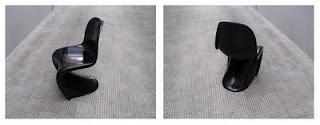 Pareja de sillas apilables, diseño Panton años 60 y reeditadas actualmente por Vitra