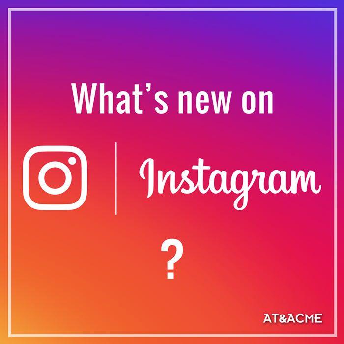 Aggiornamento sulle novità di Instagram: Sondaggi, Storie da condividere per 24 ore e Album fino a 10 foto/video. Consulenza Social AT&ACME Napoli  #ateacme #consigliutili #socialmedia