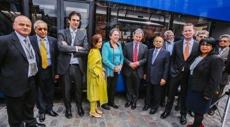 Ashok Leyland's UK subsidiary launch, Optare MetroDecker   RushLane.com