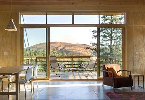 Modern Cabin Interiors Modern cabin pine 2