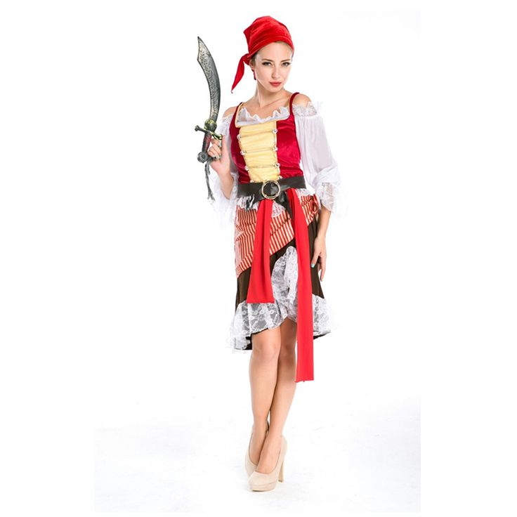 >> Click to Buy <<  Adult Minion Costume  M4850 Sexy pirate Women Costumes Big Discount Carnival Costume  #Affiliate