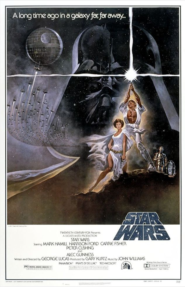 vintage star wars movie poster #starwars