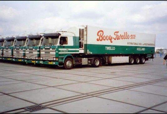 Scania. Koeltransport.