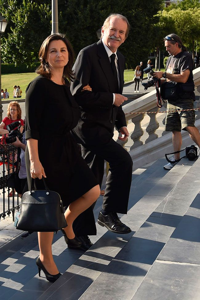 semana.es:  Orthodox Funderal for Prince Kardam of Bulgaria, June 8, 2015-Dom Duarte and Dona Isabel, Duke and Duchess of Braganza