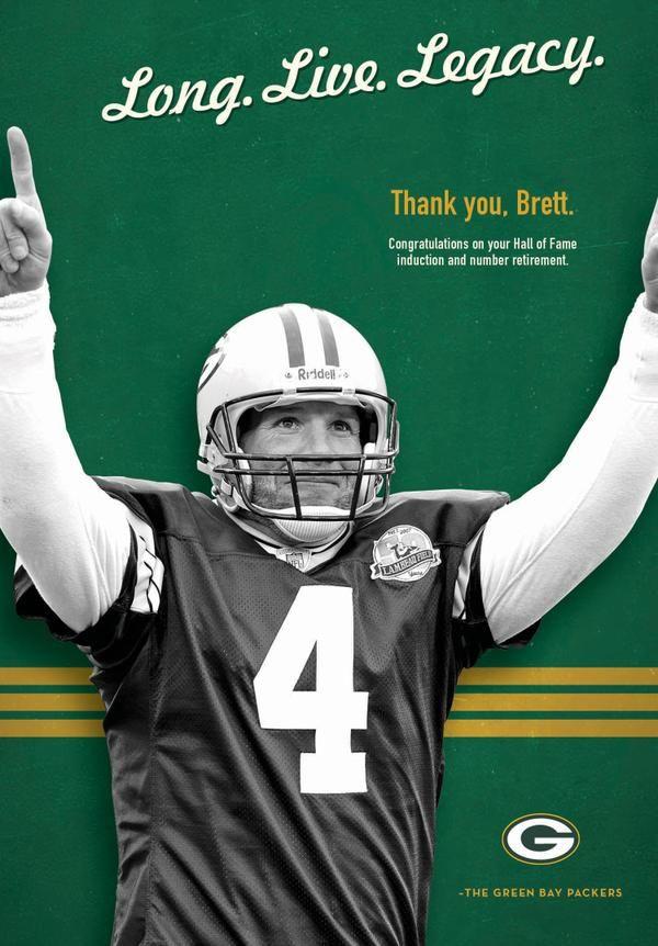 Better Late Than Never, Brett Favre is a Packer Forever