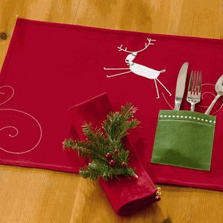 Christmas place mat
