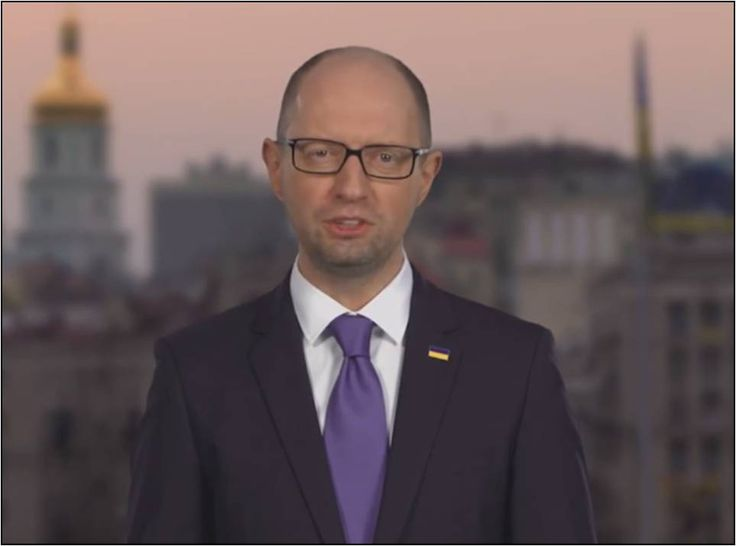 Ukraine PM resigns two months after narrowly dodging no-confidence vote RT.com, April 10, 2016   (with video news report)    After weeks of political crisis in Kiev, Ukrainian Prime Minister Arseniy Yatsenyuk has announced his long-expected re