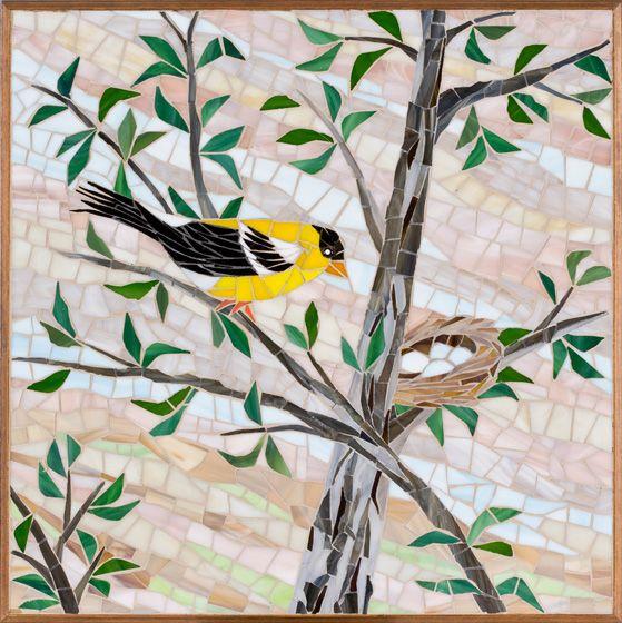 Rhonda Heisler #Mosaic Art       #birds #animals