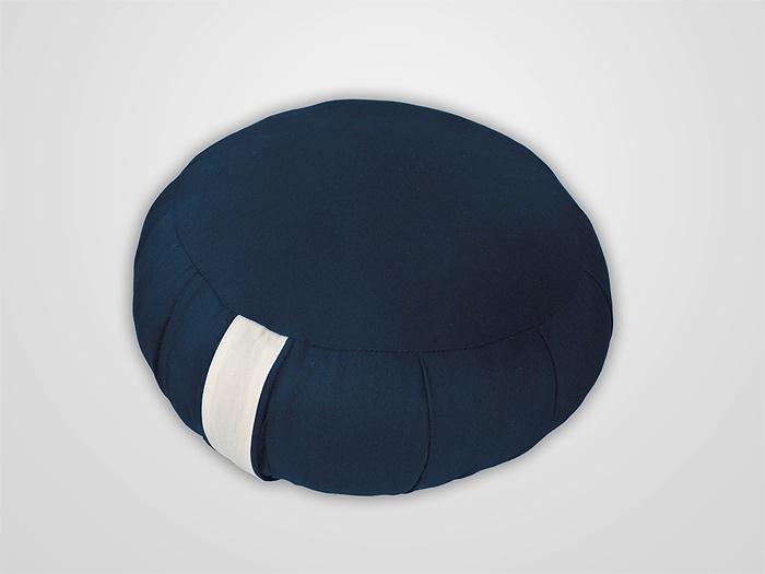 almofada para meditação - azul marinho  ~~ www.zafoo.com.br ~~ #zafu #meditação #meditation #pillow #almofada #zen #zazen #mindfulness #mindful #atençãoplena