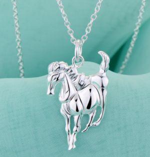 Luckysilver Horse Pendant
